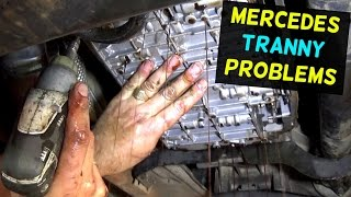 Video HOW TO FIX MERCEDES TRANSMISSION THAT DOES NOT SHIFT  LIMP MODE download MP3, 3GP, MP4, WEBM, AVI, FLV September 2018