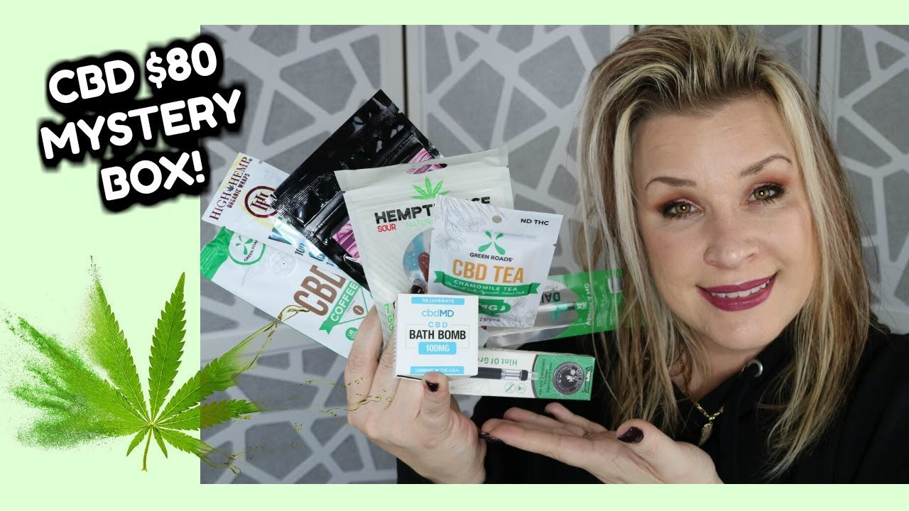 $80 CBD MYSTERY BOX! | Unboxing