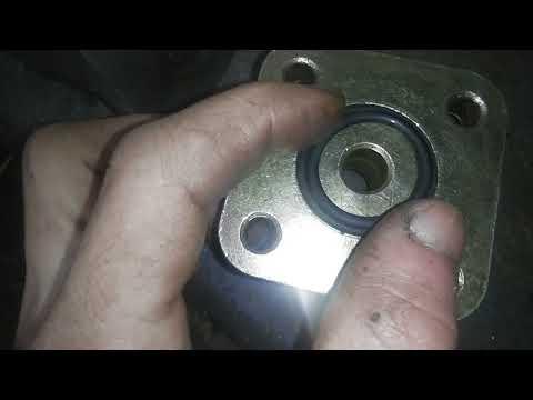 Делитель потока Т-40,проба установки на самодельный минитрактор!Часть первая!