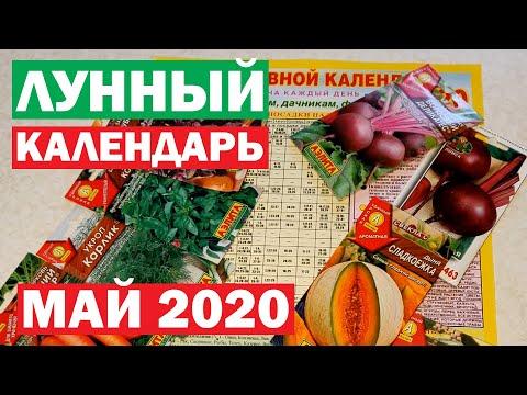 МАЙ 2020. Лунный посевной календарь огородника. Планируем посадки в Мае правильно!