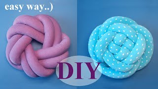 This video is an addition to the knot pillow master class that I've published before. I took some time to think of how to make the tube-making process faster and ...