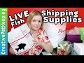 How to ship live betta fish | All MY SHIPPING SUPPLIES | Shipping Aquarium Fish