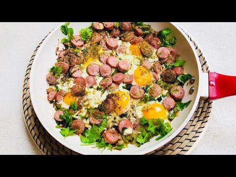 Eggs Afghani Style Breakfast – صبحانه مزه دار افغانى