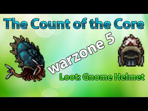 Tibia: Loot - Gnome Helmet   The Count of the Core   Warzone 5