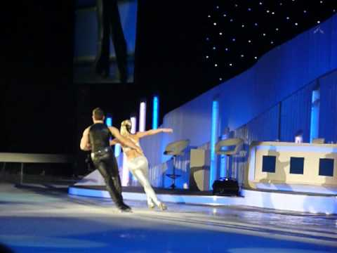 Alexandra Schauman and Lukasz Rozycki Dancing On Ice Tour Glasgow