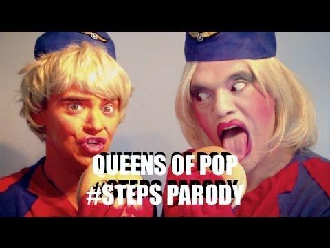 "Steps - ""Deeper Shade Of Blue"" PARODY"