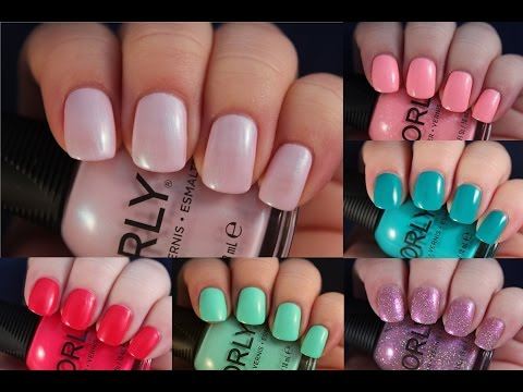 Orly Melrose Collection Spring 2016 | Live Application Review