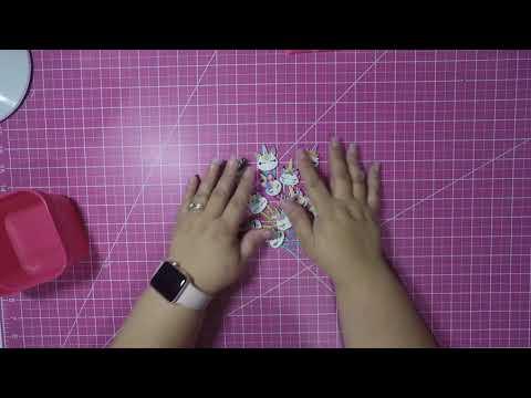 Some Cute Unicorn Paper Clips