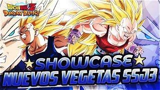 SHOWCASE! Nuevas Unidades Vegeta SSJ3 (Z y GT) PHY Y TEQ! | DBZ Dokkan Battle En Español