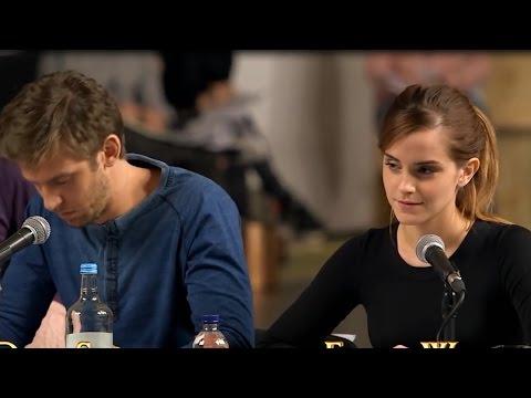 First Look At Emma Watson & Dan Stevens As Beauty & The Beast