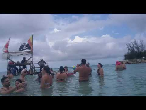 Lobster Boat Runaway Bay Jamaica!