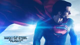 "Man of Steel - Movie Soundtrack - ""Flight"" [HD]"