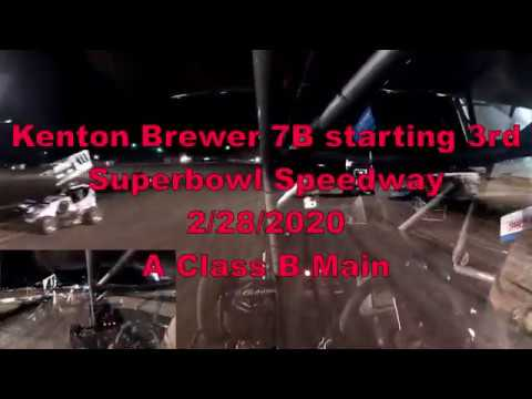 This Track Is Very Unique! - Lucas Oil NOW600 Superbowl Speedway: 2/28/2020