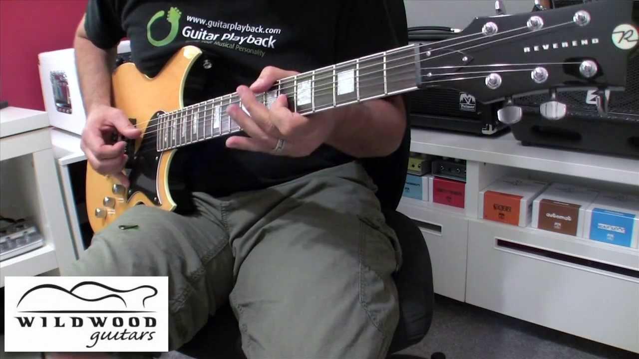 reverend sensei jr guitar youtube. Black Bedroom Furniture Sets. Home Design Ideas