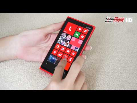[HD] รีวิวมือถือ Nokia Lumia 920 Review [TH-ENG SUB]