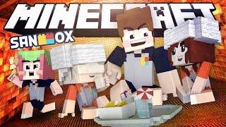 뭔가 이상한(?) 찜질방에 놀러간 도삼촌과 조카들.!? [조카들과 찜질방: 마인크래프트 모드 상황극] Minecraft - Roleplay - [도티]