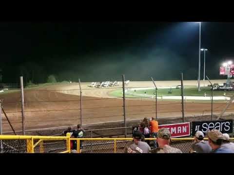 World of Outlaws Sprint Cars Last Chance Showdown Lernerville Speedway September 23 2017