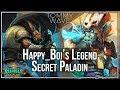 Happy_Boi's Legend Secret Paladin - Heathstone Decks