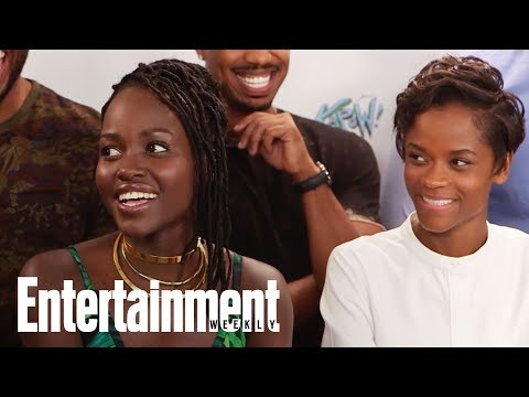 Black Panther Cast Felt The Love During Secret Fan Screening | SDCC 2017 | Entertainment Weekly