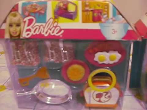 ACCESSORI PER CUCINA DI BARBIE - YouTube