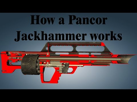 How a Pancor Jackhammer works