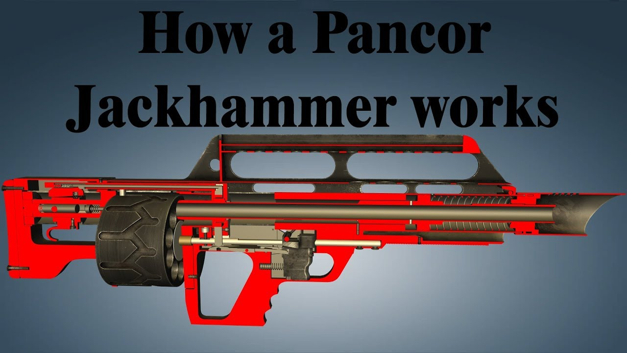 how a pancor jackhammer works youtube