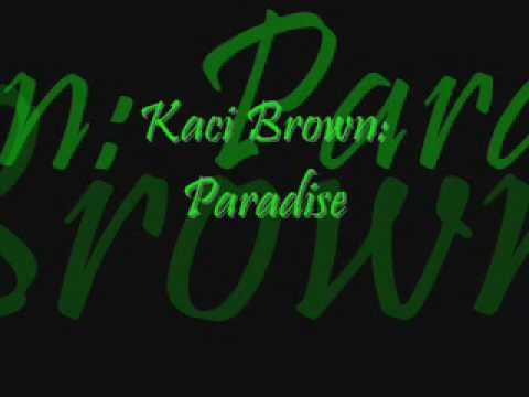 Kaci Battaglia: Paradise (Lyrics in Description) - YouTube