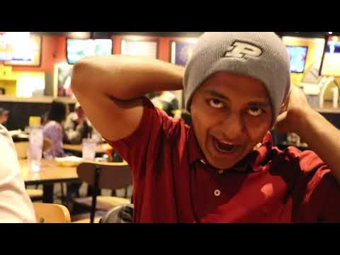 TRYING BUFFALO WILD WING'S HOTTEST SAUCE   VLOG#21