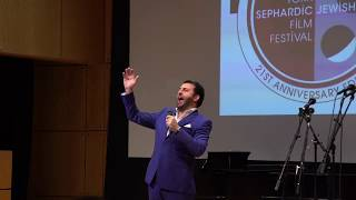 NY Sephardic Jewish Film Festival 2018 - David Serero sings the US National Anthem (2018)