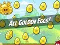 Angry Birds Complete Golden Eggs Guide | Find All 30 Golden Eggs (HD)