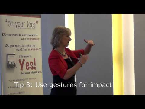 Pimp your Pitch with Barbara Moynihan at Dublin Chamber of Commerce  On Your Feet training