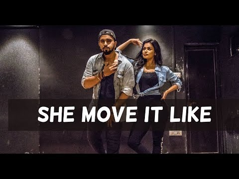 SHE MOVE IT LIKE | Badshah | Tejas Dhoke Ft. Sonyaa | Team Dancefit