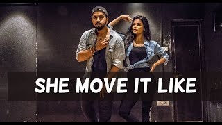 SHE MOVE IT LIKE | Badshah | Tejas Dhoke Ft. Sonyaa | Team Dancefit
