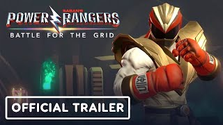 Power Rangers: Battle for the Grid - Street Fighter Crossover Trailer