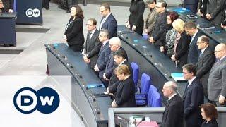 البرلمان الألماني يقف دقيقة صمت إحياء لذكرى ضحايا اعتداء برلين | الأخبار