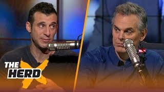 doug gottlieb and colin on lebrons style of calling out teammates the herd