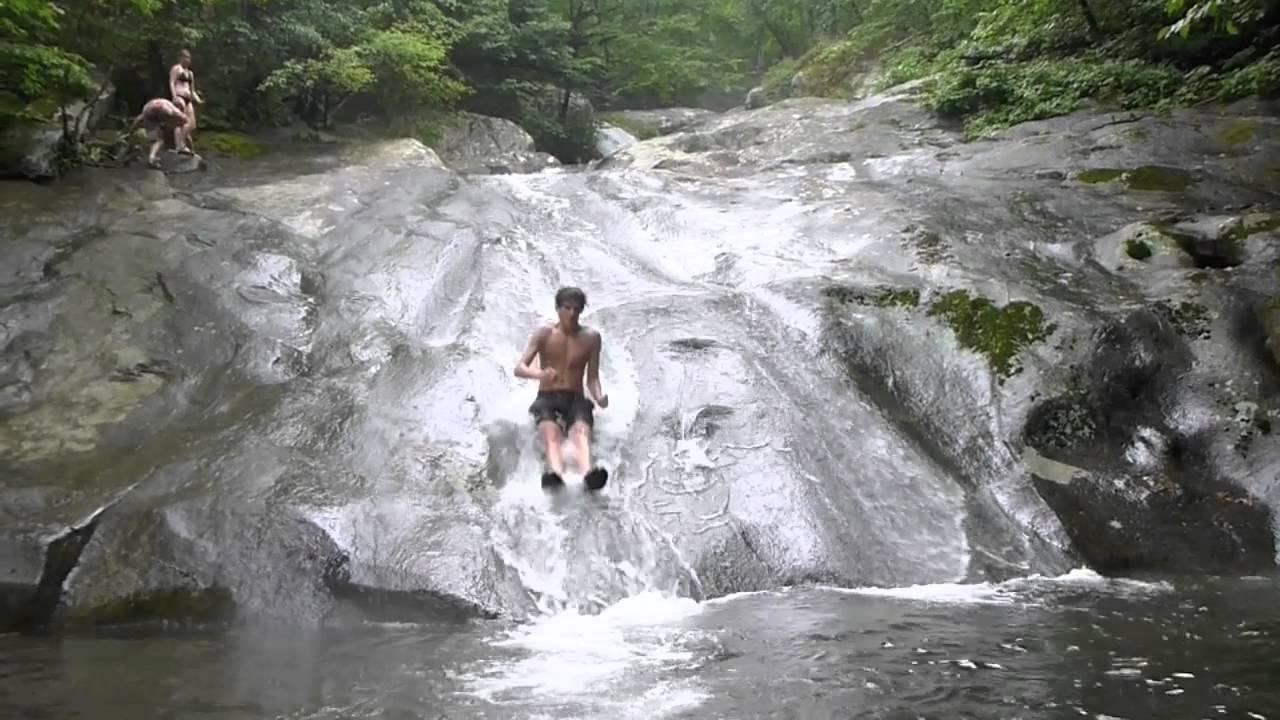 Cedar Run Natural Water Slide