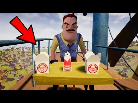 DON'T TRY THIS HELLO NEIGHBOR FOOD CHALLENGE!!! (GROSS WARNING)