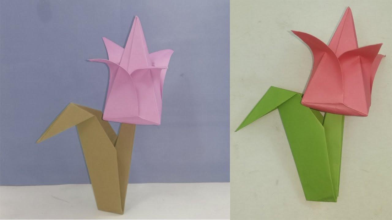How To Make Origami Lotus Flower Origami Lotus Flower Diy Home