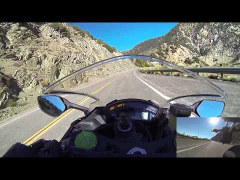 2015 ZX10R Angeles Crest Break In Ride - Leaving Newcomb's Ranch