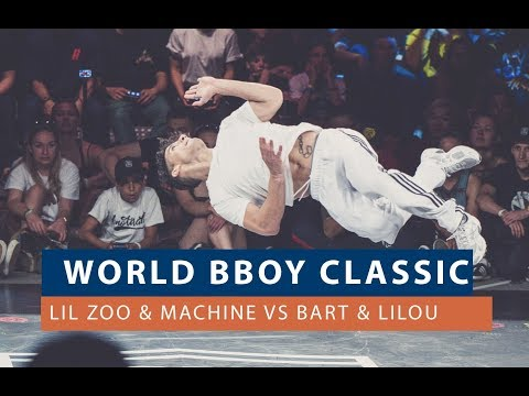 Lil Zoo & Machine Vs Bart & Lilou | QUARTER FINAL | WORLD BBOY CLASSIC 2018