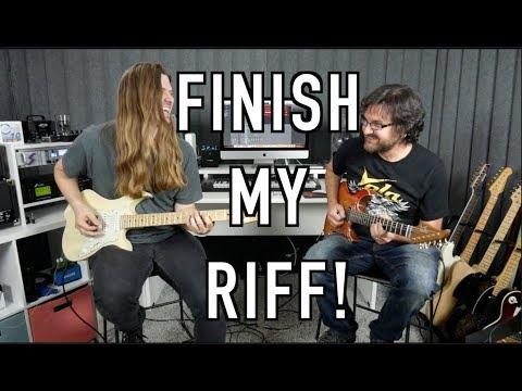 Finish My Riff with David Wallimann!