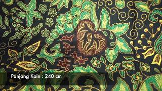 Batik Banyumas Kombinasi Tulis Motif Godong Angguran