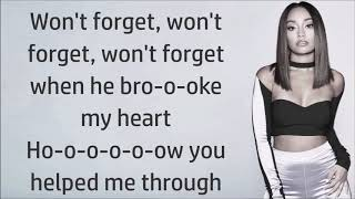 Little Mix ~ More Than Words ft. Kamille ~ Lyrics
