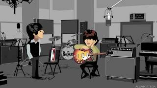 The Beatoons - TAXMAN -The Studio Gags-4 (@alvar0rtega)