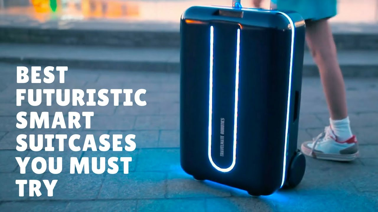 c21f2eb8e631 Best Futuristic Smart Suitcases You Must Try - YouTube