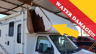 How To Repair Loose Laminated RV Sidewalls....and Why It's Not Done