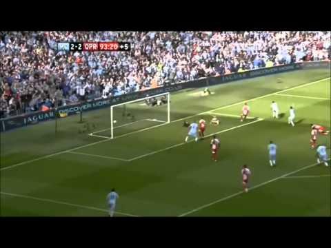 Sergio Aguero winning goal vs QPR