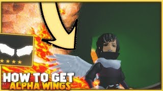 Roblox World//Zero | HOW TO GET ALPHA WINGS