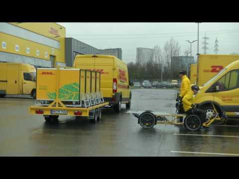 DHL City-Hub E-Lastenrad Frankfurt 1